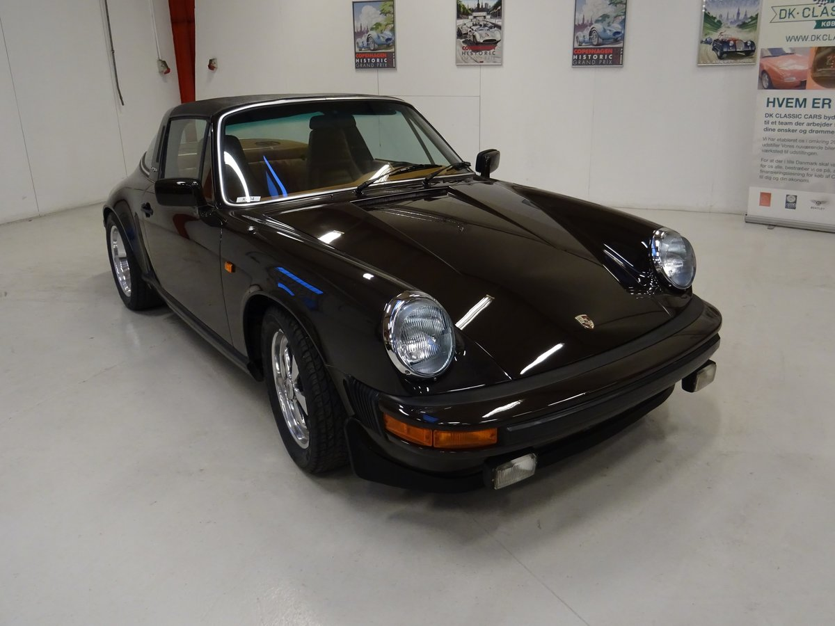 1979 Porsche SC Targa 3.0-liter - Matching numbers car For Sale (picture 1 of 24)