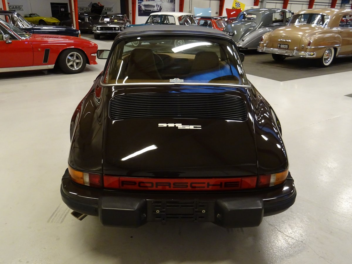 1979 Porsche SC Targa 3.0-liter - Matching numbers car SOLD (picture 5 of 24)