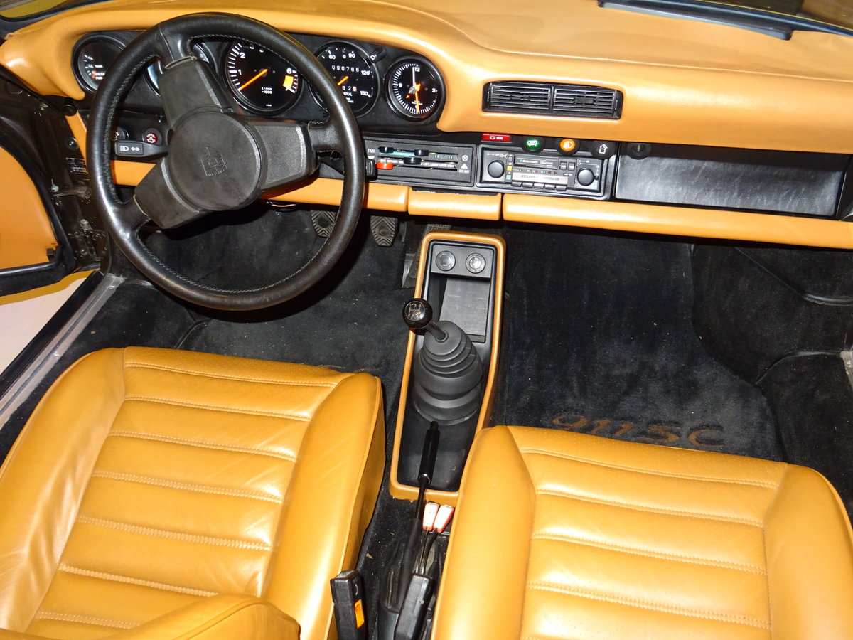 1979 Porsche SC Targa 3.0-liter - Matching numbers car For Sale (picture 14 of 24)