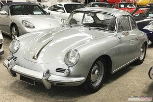 Porsche 356 B T6 1600 S LHD coupe by Karmann 1963 For Sale