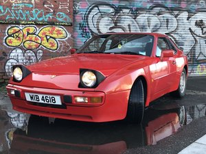 1986 Porsche 944 Guards Red
