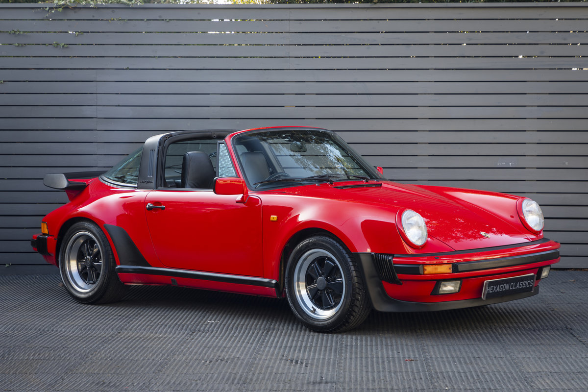 PORSCHE 911 (930) TURBO TARGA G50, 1989 For Sale (picture 1 of 23)
