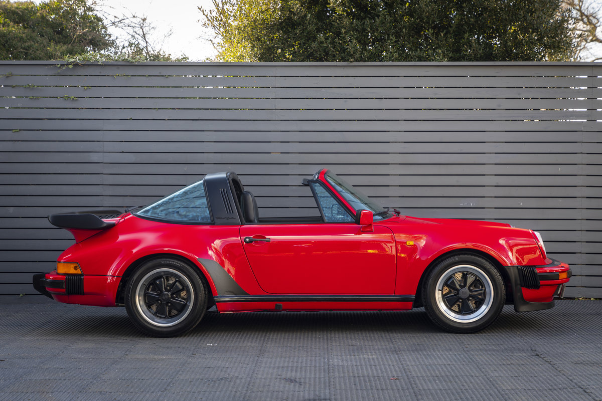 PORSCHE 911 (930) TURBO TARGA G50, 1989 For Sale (picture 3 of 23)