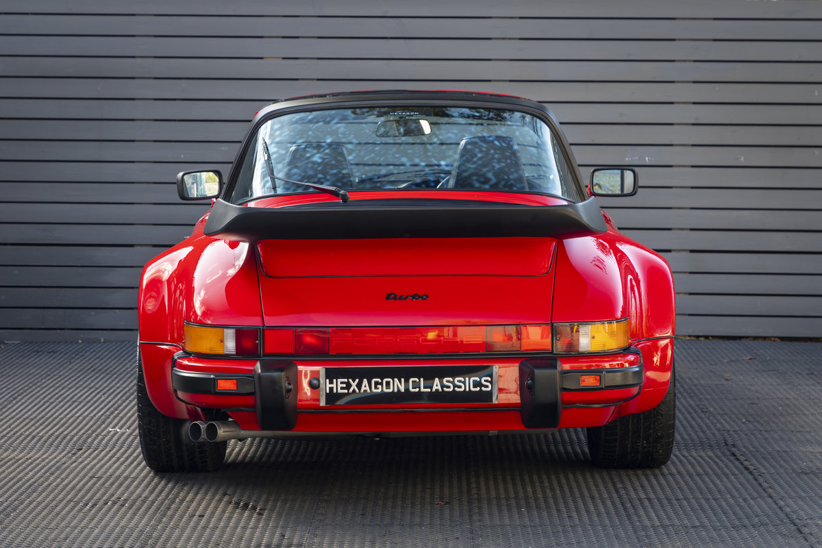PORSCHE 911 (930) TURBO TARGA G50, 1989 For Sale (picture 5 of 23)