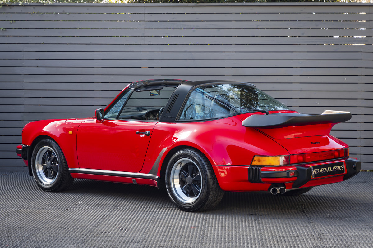 PORSCHE 911 (930) TURBO TARGA G50, 1989 For Sale (picture 6 of 23)