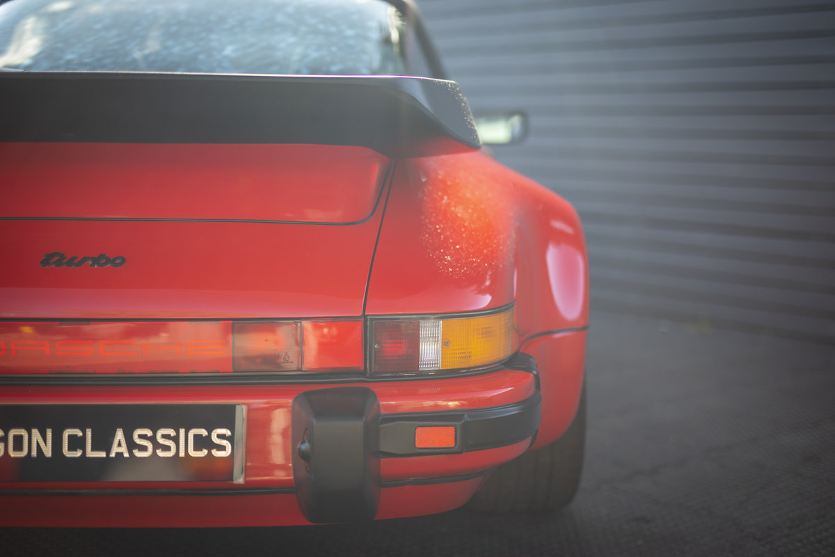 PORSCHE 911 (930) TURBO TARGA G50, 1989 For Sale (picture 20 of 23)