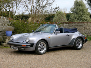 1989 Porsche 911 Carrera Supersport Cabriolet M491 Wide Body