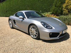2014 Porsche Cayman S 981 Manual 6 speed - GT Silver SOLD