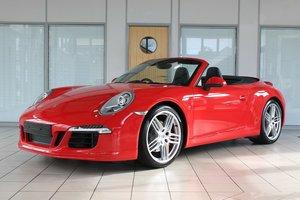 2012 Porsche 911 (991) 3.8 C2S PDK Cabriolet