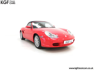 2004 A Late Porsche Boxster 986 with 25584 Miles and Full History SOLD