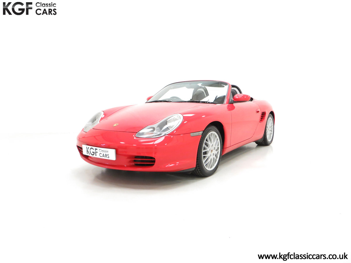 2004 A Late Porsche Boxster 986 with 25584 Miles and Full History For Sale (picture 2 of 6)