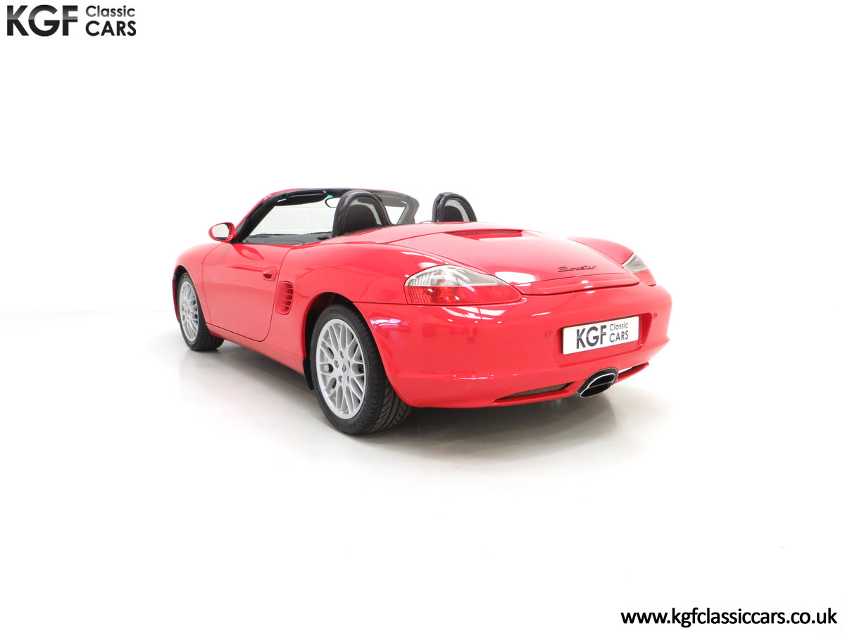 2004 A Late Porsche Boxster 986 with 25584 Miles and Full History For Sale (picture 4 of 6)