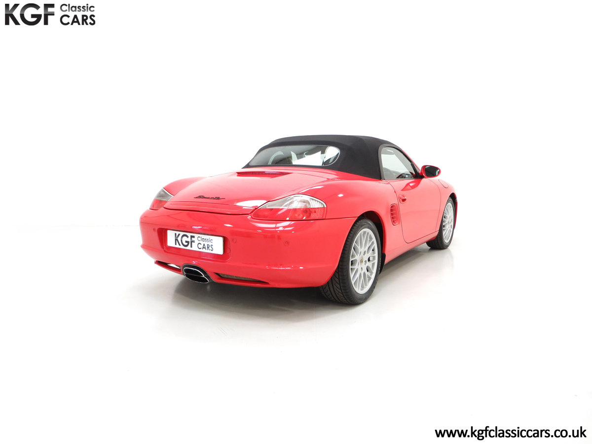 2004 A Late Porsche Boxster 986 with 25584 Miles and Full History For Sale (picture 5 of 6)
