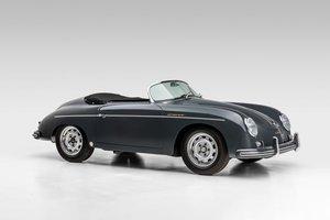 1956 Porsche 356A Speedster Outlaw w 2 Tops Grey $279.5k For Sale