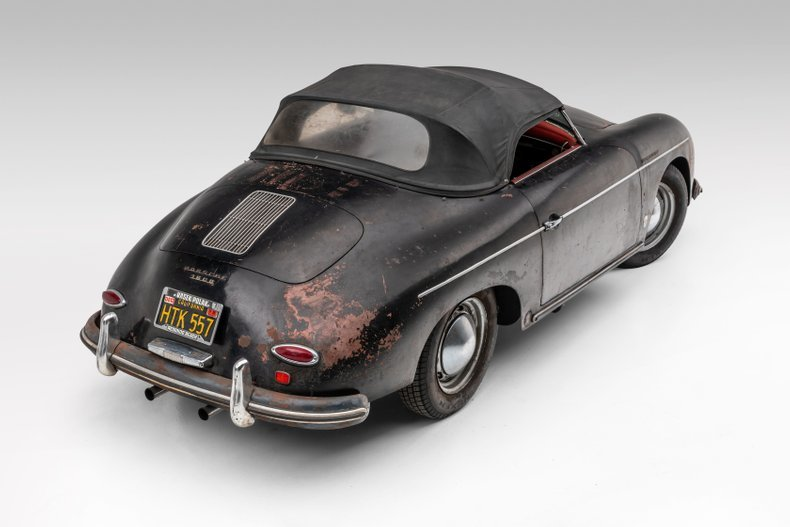 1957 Porsche 356A Speedster Patina Project Driver $399.5k For Sale (picture 2 of 6)