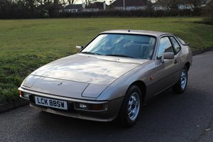 1981 Porsche 924 1986 - To be auctioned  For Sale by Auction