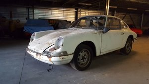 Porsche 912 Coupé 1966 Restoration project For Sale