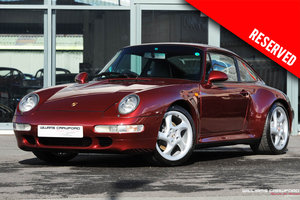 1997 RESERVED - Porsche 993 Carrera 2 S manual coupe SOLD