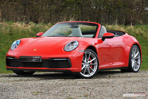 2020 Delivery miles Porsche 992 Carrera 2 S PDK cabriolet For Sale