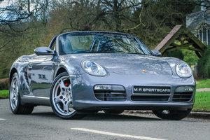 Porsche Boxster S 3.2 987 Manual Convertible in Seal Grey