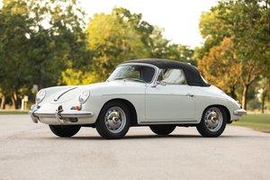 1961 Porsche 356B T5 Cabriolet clean Grey(~)Jade  $127.5k
