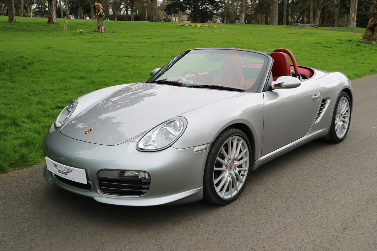 2008 Porsche RS60 Boxster Manual GT Silver 1403 of 1960 made SOLD (picture 1 of 6)