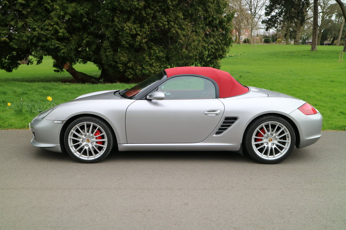 2008 Porsche RS60 Boxster Manual GT Silver 1403 of 1960 made SOLD (picture 3 of 6)
