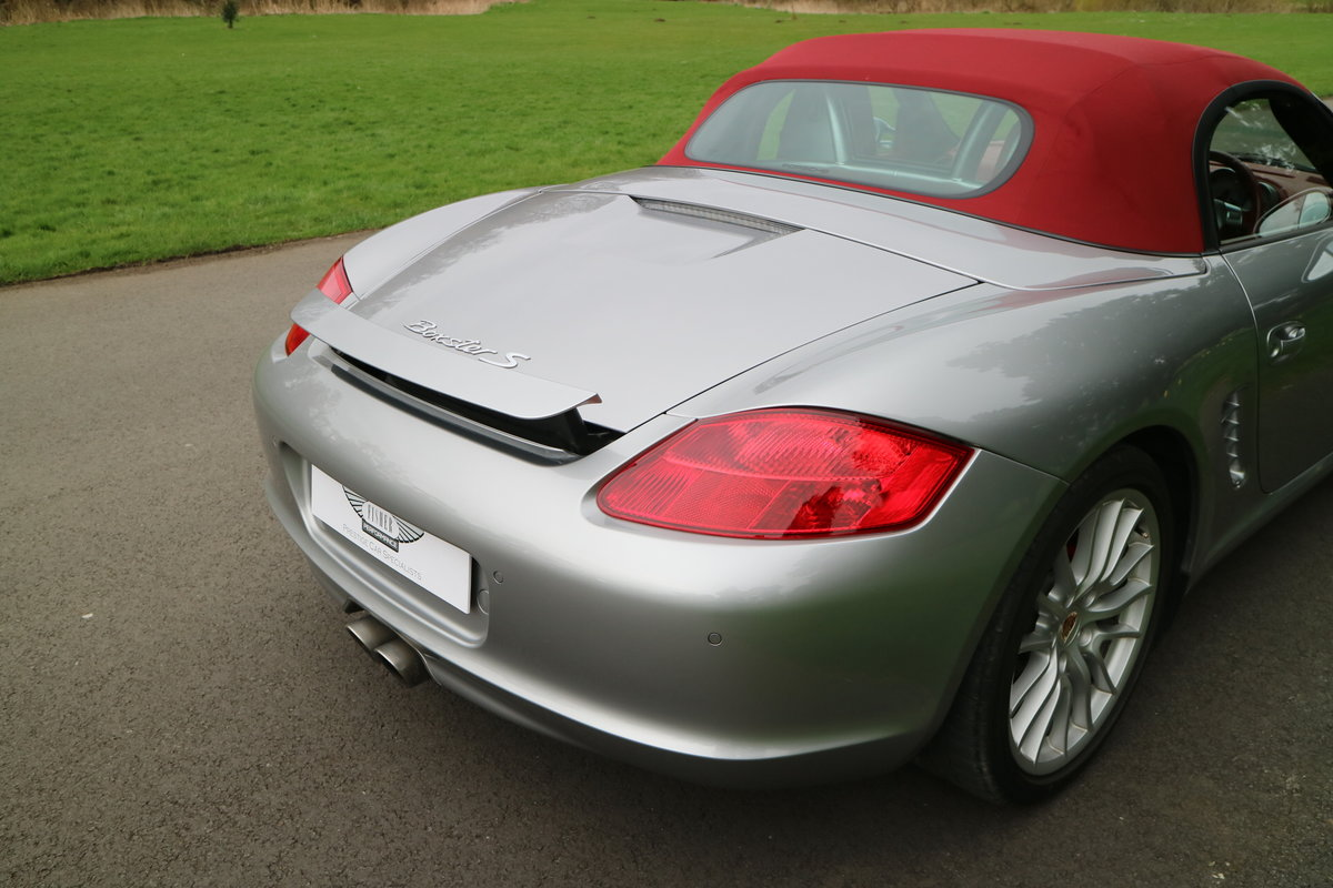 2008 Porsche RS60 Boxster Manual GT Silver 1403 of 1960 made SOLD (picture 5 of 6)