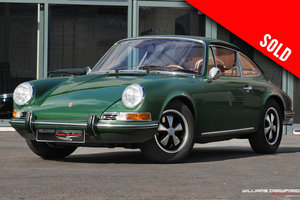 1969 Restored and upgraded Porsche 912 LHD coupe SOLD