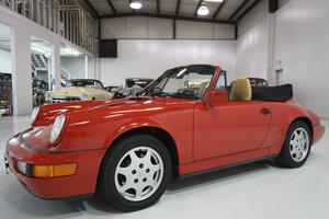 1991 Porsche 911 Carrera 4 Cabriolet For Sale