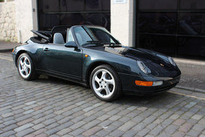 1994 Porsche 911 3.6 993 Carrera Cabriolet 2dr For Sale