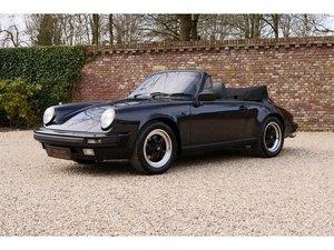 1988 Porsche 911 3.2 Carrera Convertible G50 Rebuilt engine, full