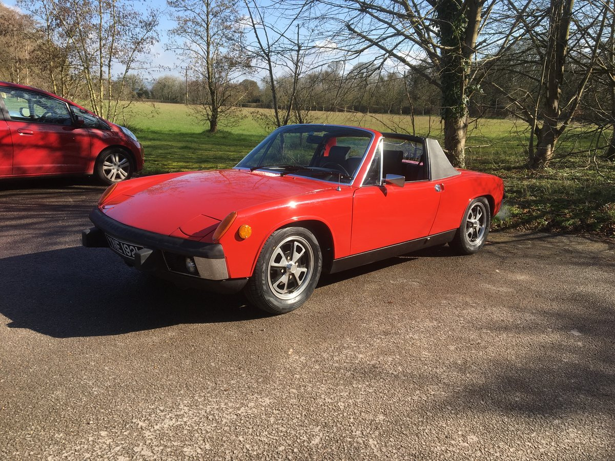 1973 Porsche 914 1.7 litre, 60,000 miles from new, rust free For Sale (picture 1 of 6)