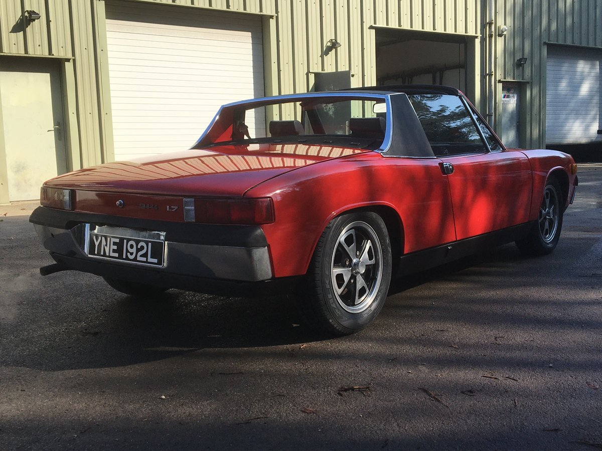 1973 Porsche 914 1.7 litre, 60,000 miles from new, rust free For Sale (picture 3 of 6)