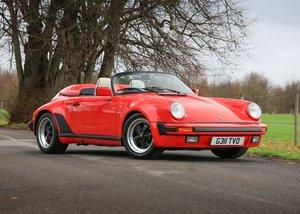 1990 1989 Porsche 911 / 930 Turbo Body Speedster