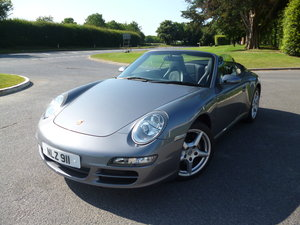 Porsche 911 Carrera Cabriolet 3.6 Manual-Low Miles