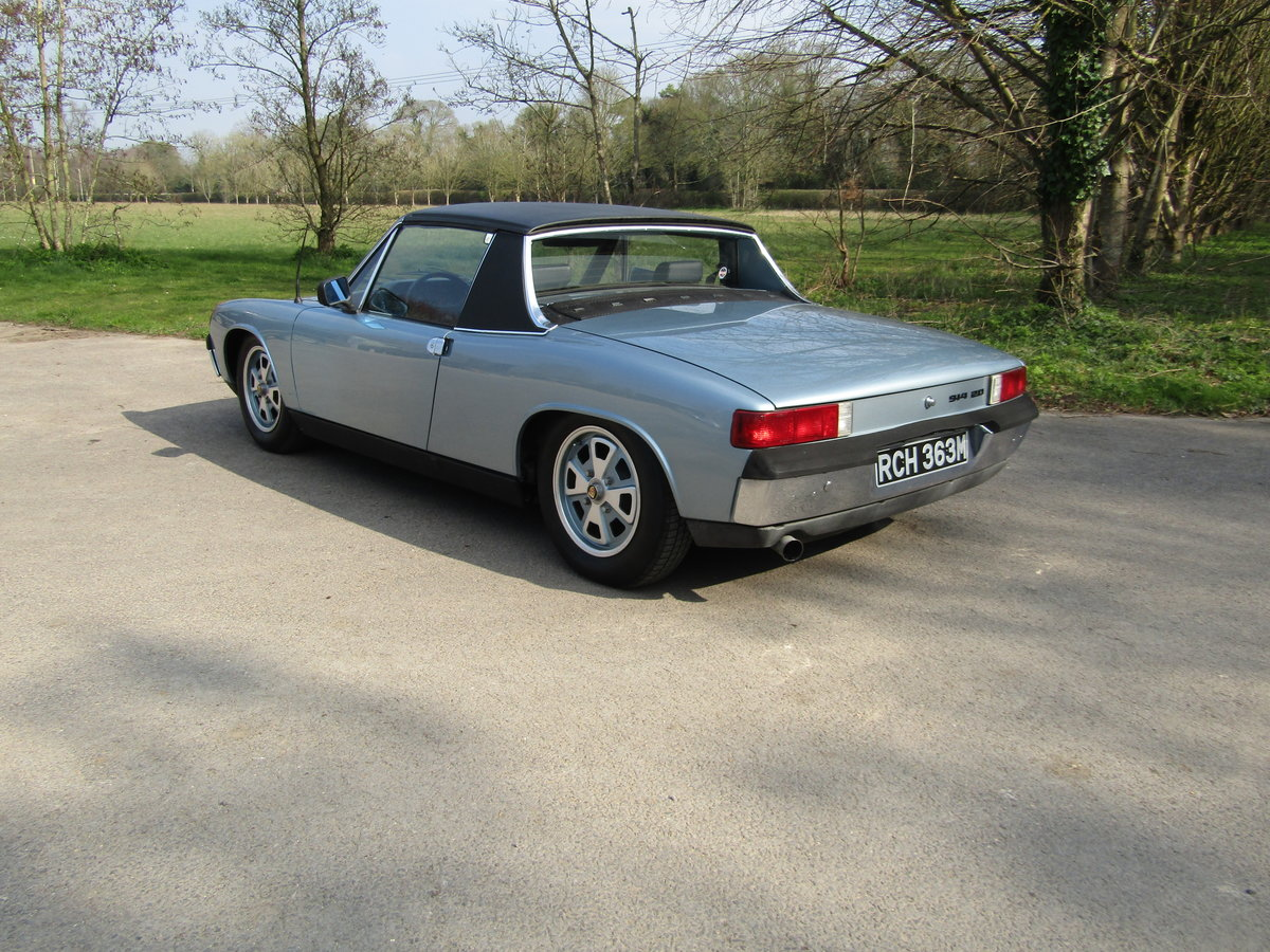 1974 Porsche 914, Conversion with 911sc engine. Rust Free For Sale (picture 2 of 6)