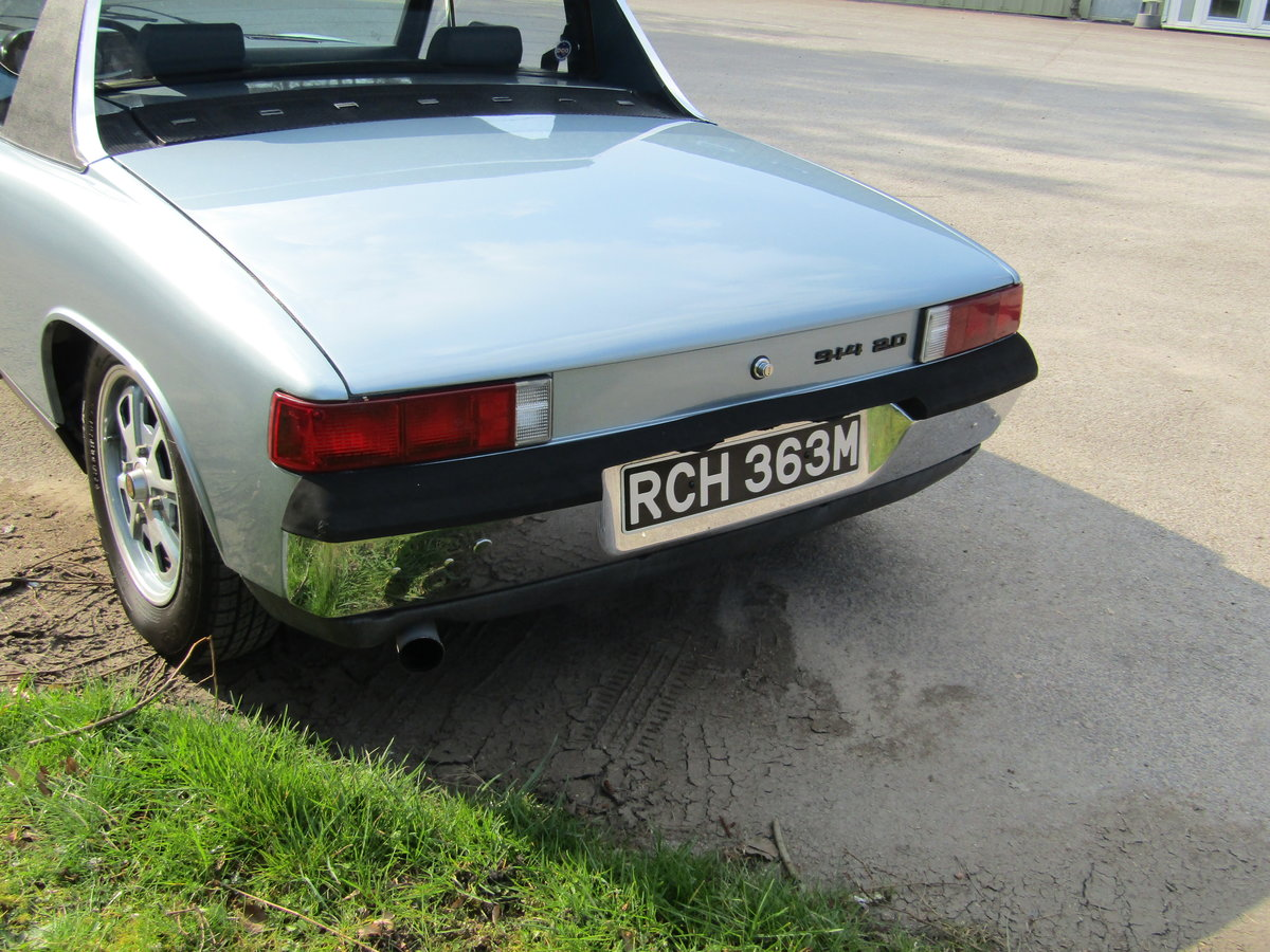 1974 Porsche 914, Conversion with 911sc engine. Rust Free For Sale (picture 5 of 6)