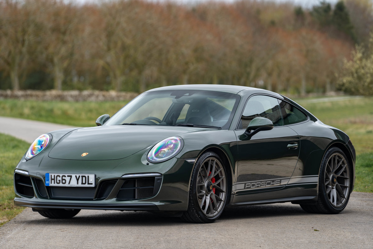 2017 Porsche 991.2 GTS Coupe - PTS Oak Green Metallic For Sale (picture 1 of 6)