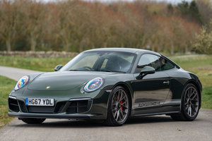 2017 Porsche 991.2 GTS Coupe - PTS Oak Green Metallic
