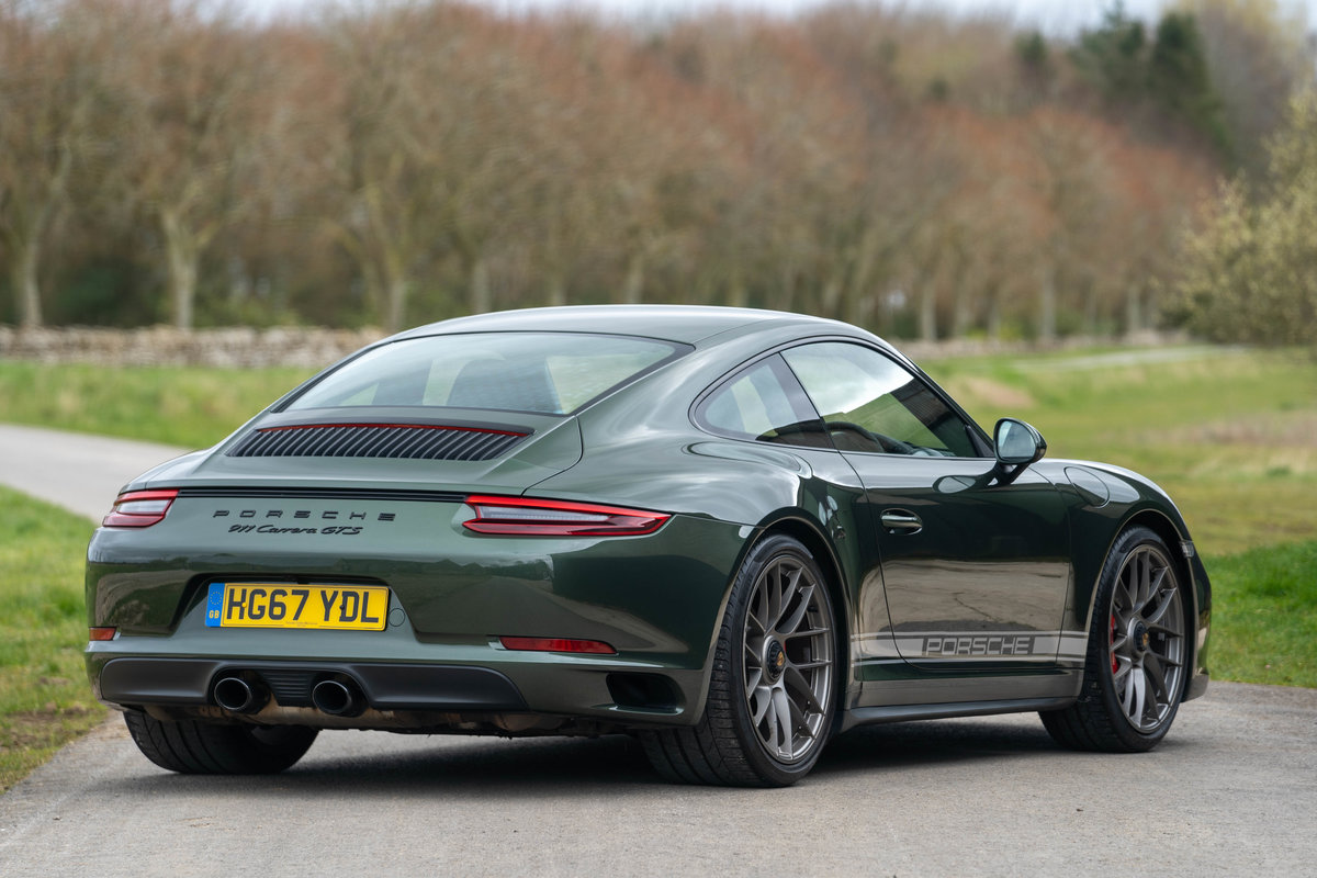 2017 Porsche 991.2 GTS Coupe - PTS Oak Green Metallic For Sale (picture 2 of 6)