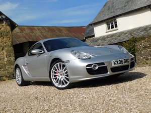 2006 Porsche 987 Cayman S - 70k, track day specification