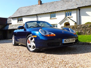 2000 Porsche 986 Boxster 3.2 S - 1 owner, 19k miles, concours For Sale