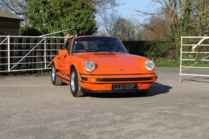 1975 Porsche 911 Carrera 3.0 Sport Targa, London Motor Show Car For Sale
