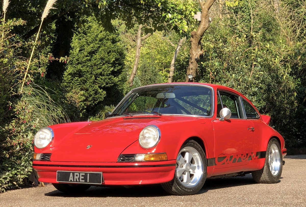 1972 PORSCHE 911 Carrara RS Touring Evocation Uk example ( 911E ) For Sale (picture 1 of 6)
