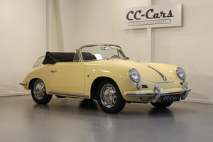 1964 Porsche 356 SC Convertible For Sale