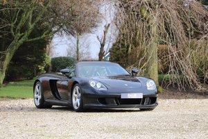 2005 Low mileage Porsche Carrera GT For Sale