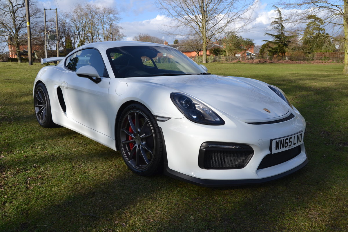 2015 Porsche Cayman 981 GT4  For Sale (picture 1 of 6)