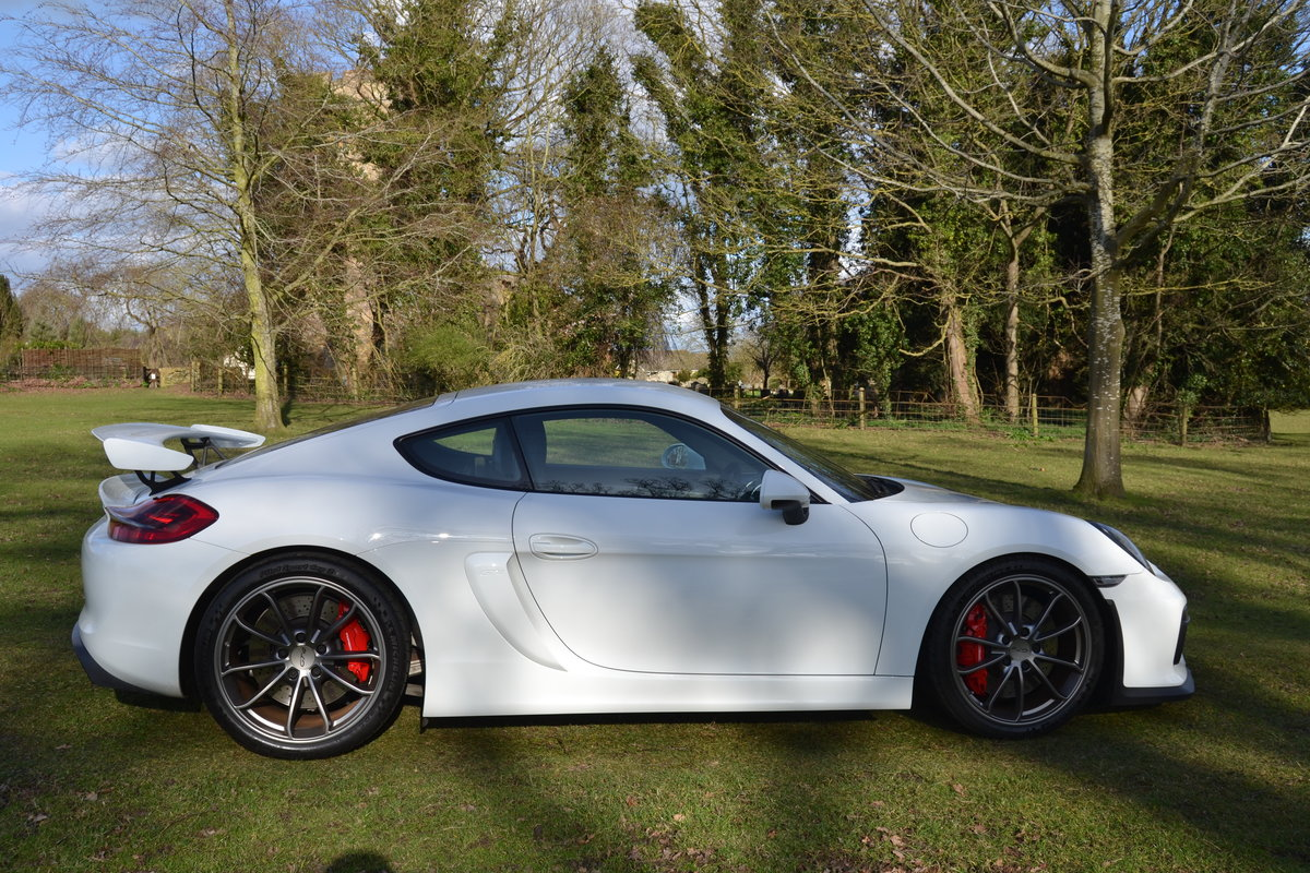 2015 Porsche Cayman 981 GT4  For Sale (picture 2 of 6)