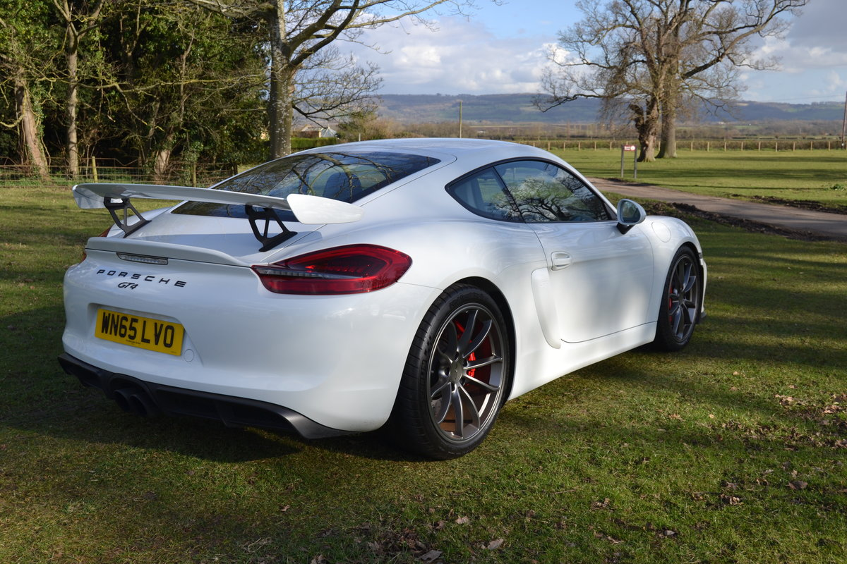 2015 Porsche Cayman 981 GT4  For Sale (picture 3 of 6)